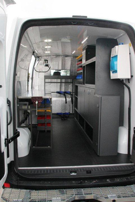 Ford Transit Connect >> Specialized Vehicle Fitouts | Caddy Mobility